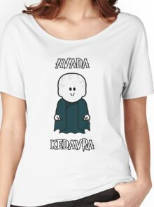 "Weenicons: Harry Potter - Voldemort ""Avada Kedavra"" Women's Relaxed Fit T-Shirt"