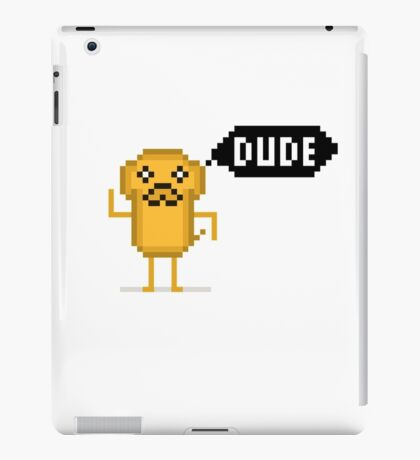 Jake's DUDE iPad Case/Skin