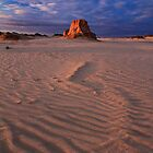 Low Light On Ancient Sand by Stephen Ruane