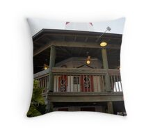 John's Landmark Throw Pillow