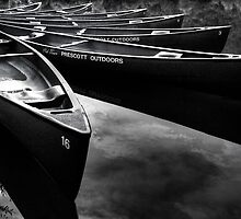 Canoe Spread by Bob Larson