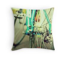 take me for a ride Throw Pillow