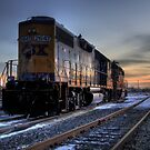 CSX Sunset by John Cruz