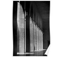 Bahrain Mosque Hallway Poster