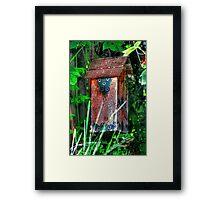 Little Abode Among the Vines Framed Print