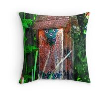 Little Abode Among the Vines Throw Pillow