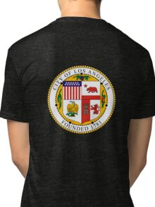 Seal of the City of Los Angeles Tri-blend T-Shirt
