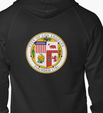 Seal of the City of Los Angeles Zipped Hoodie