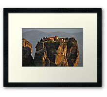 Monastery of the Holy Trinity Framed Print