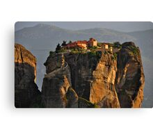 Monastery of the Holy Trinity Canvas Print