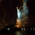 Lady Liberty waving her wand, NYC by RonnieGinnever