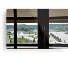 From the Palace Window Metal Print