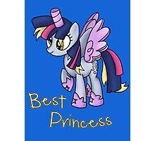 My Little Pony - MLP - Derpy is Best Princess Photographic Print
