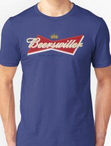 Beerswiller Funny Parody Logo T-Shirt