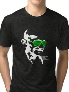 ISSA 2011 Gandhi Shades (Black) Tri-blend T-Shirt