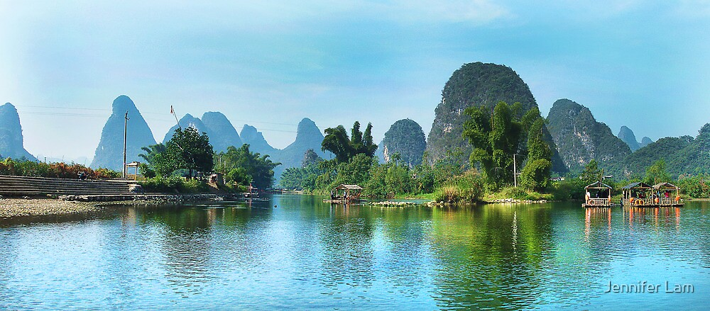 Countryside Peacefulness by Jennifer Lam