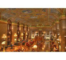 Chicago / Palmer House Hilton Photographic Print