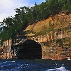 Pictured Rocks National Lakeshore Cliffs by Mark Bolen
