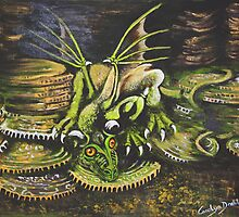 Sarah's Dragon by CaDra