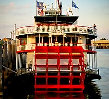Steamboat Natchez by bodhikaiimagery