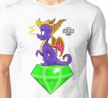 Spyro on a Gem Unisex T-Shirt
