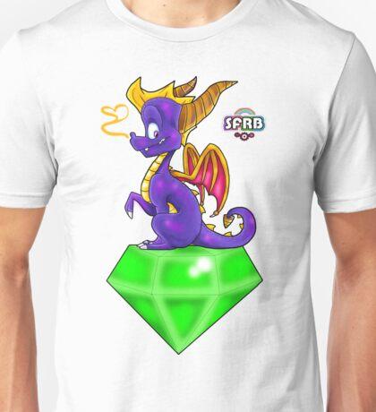 Spyro on a Gem Unisex T-Shirt