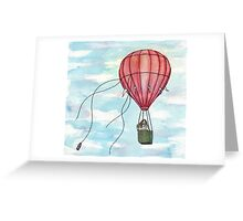Adrift Greeting Card