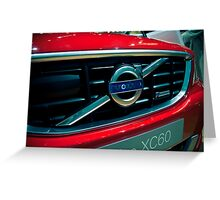 Volvo XC60 Greeting Card