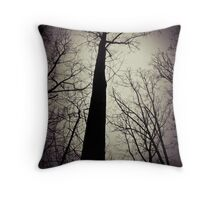 The Eerie Throw Pillow