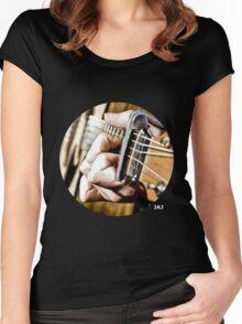 Fret Watcher Women's Fitted Scoop T-Shirt