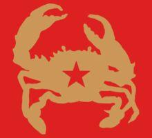 Communist Mudcrab by Mudcrabzzz