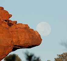 Moonball at Camel-head Rock... by A1000WORDS