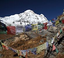 'Monument Hill', Annapurna Base Camp. by Andy Newman