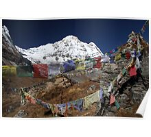 'Monument Hill', Annapurna Base Camp. Poster