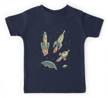 Retro Spaceships Kids Clothes