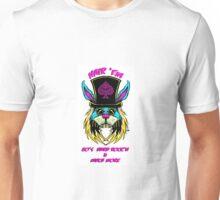 Hair'Em Slash'd Bobby aka BadBunny Logo Unisex T-Shirt