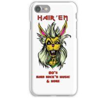 """Hair'Em Ed'd """" Bobby aka BadBunny """" Logo iPhone Case/Skin"""
