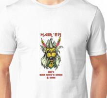 """Hair'Em Ed'd """" Bobby aka BadBunny """" Logo Unisex T-Shirt"""
