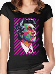 Ferry Suave Bryan Ferry Women's Fitted Scoop T-Shirt