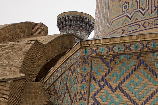 Corners, Amir Timur Mausoleum by Gillian Anderson LAPS, AFIAP