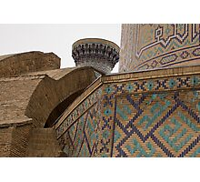 Corners, Amir Timur Mausoleum Photographic Print