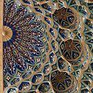 Roof detail, Amur Timur Mausoleum by Gillian Anderson LAPS, AFIAP