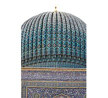 Dome of Amur Timur Mausoleum Photographic Print