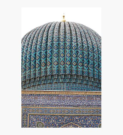 Dome of Amur Timur Mausoleum Photographic Print