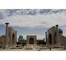 Registan Square view Photographic Print
