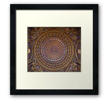 Dome ceiling Framed Print