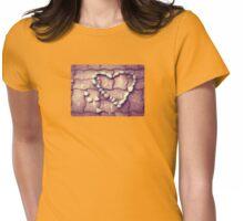 Heart - JUSTART © Womens Fitted T-Shirt