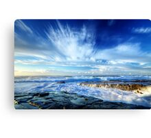 Splash & Splash Canvas Print