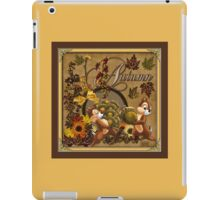 Chip and Dale Autumn  iPad Case/Skin