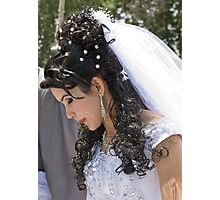 Uzbek bride Photographic Print